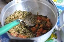 Savory mung bean dish