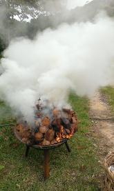 and burn...